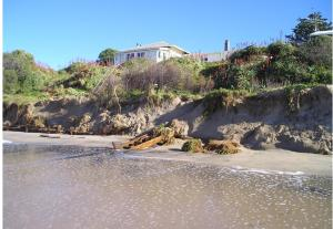 Wainui Beach Erosion - accelerated by subdivision stormwater?