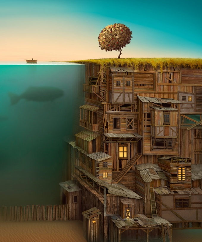 1000x1200_2771_Time_2d_surrealism_fantasy_architecture_picture_image_digital_art