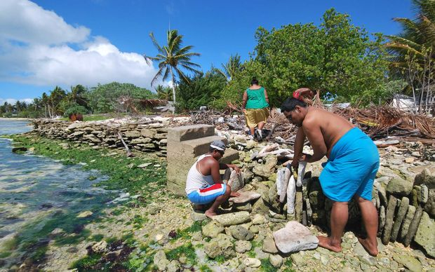 Kiribati has made an urgent appeal to the UN Security Council for help in combating climate change. Photo: Radio NZ