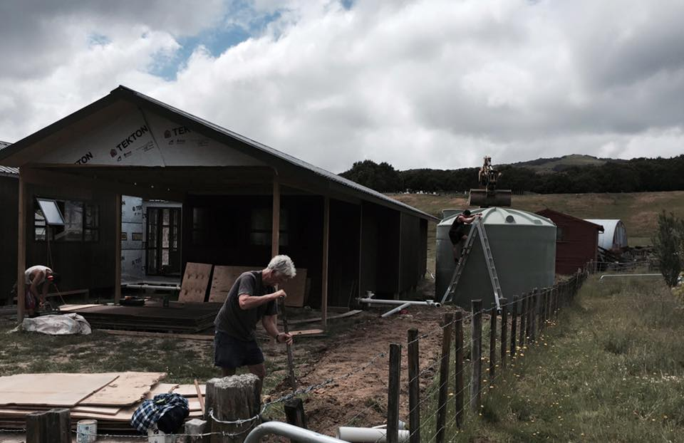 Connecting sewerage to the marae system